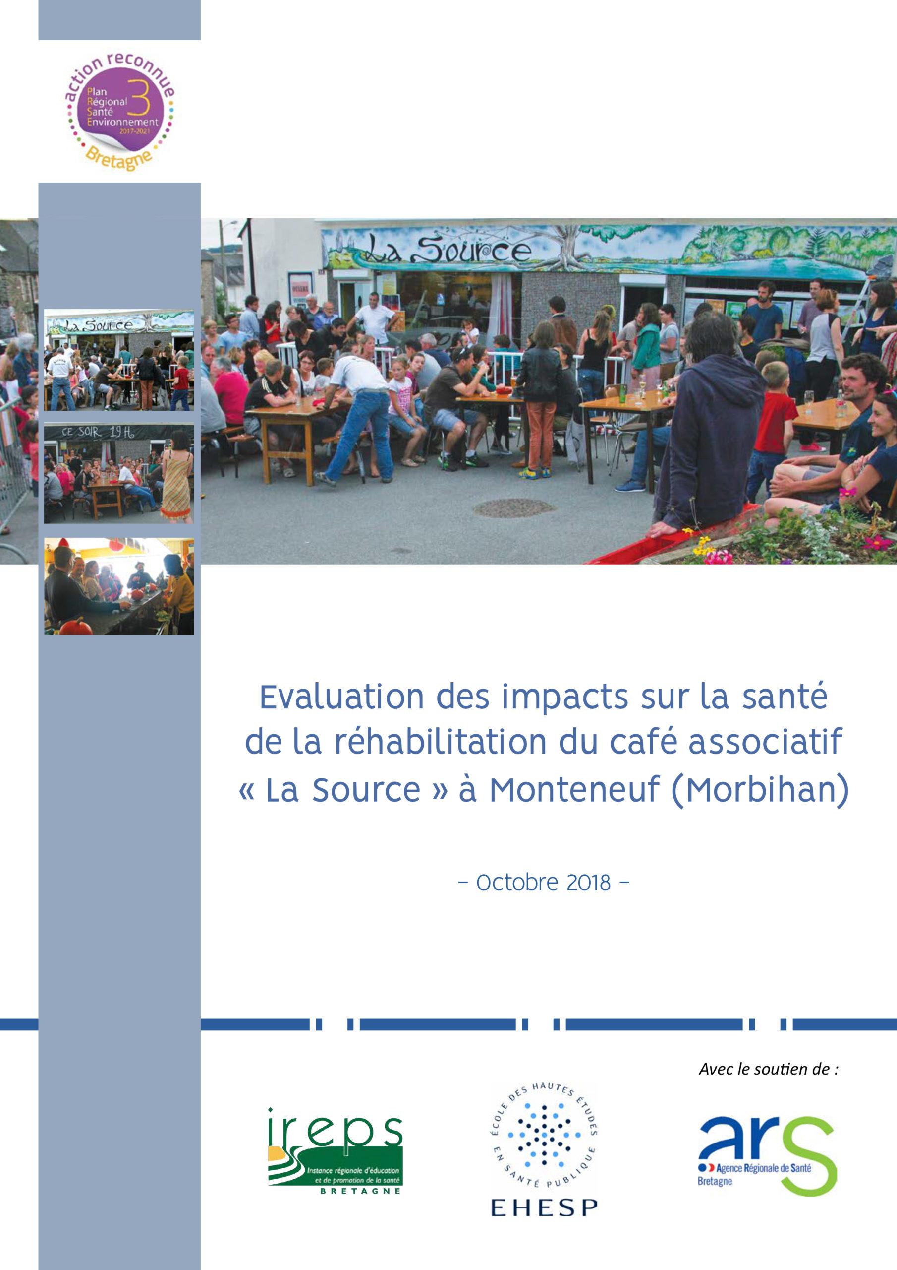 Évaluation d'impacts sur la santé : réhabilitation d'un café associatif à Monteneuf
