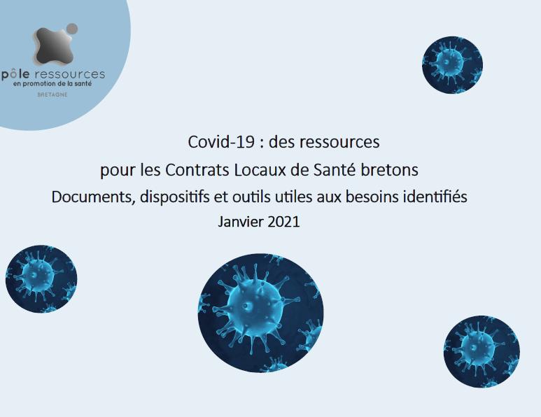 Covid-19 : des ressources pour les Contrats Locaux de Santé bretons